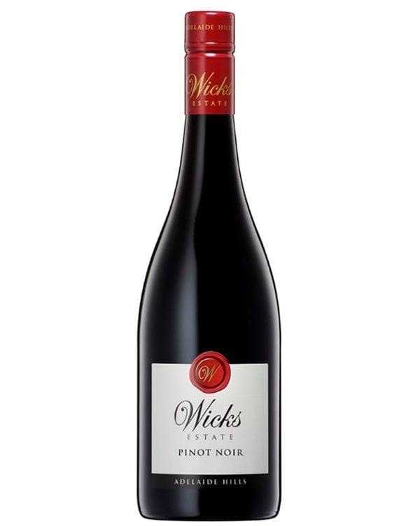 Wicks Estate Pinot Noir Adelaide Hills Australian Red Wine