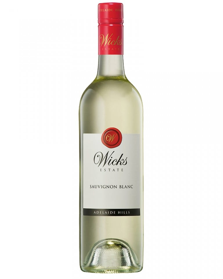 Wicks Estate Sauvignon Blanc Adelaide Hills Australian White Wine